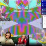 Got a demo on 100% Electronica's Live Stream.