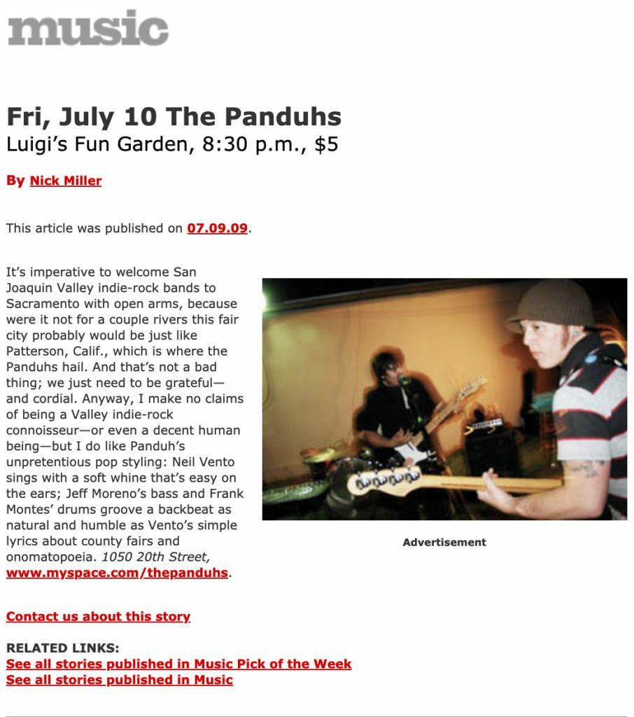 The Panduhs review by Nick Miller of newsreview.com